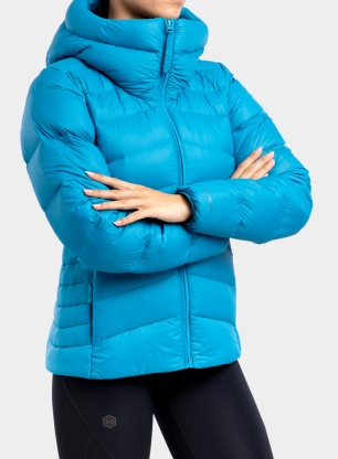 Kurtka damska Columbia Autumn Park Down Hooded Jacket - blue