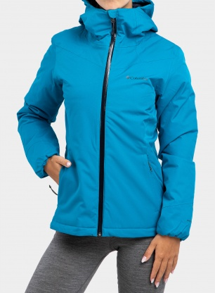Kurtka damska Columbia Windgates Insulated Jacket - blue