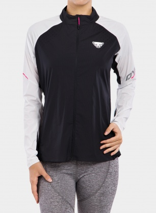 Kurtka biegowa damska Dynafit DNA Wind Jacket - black out