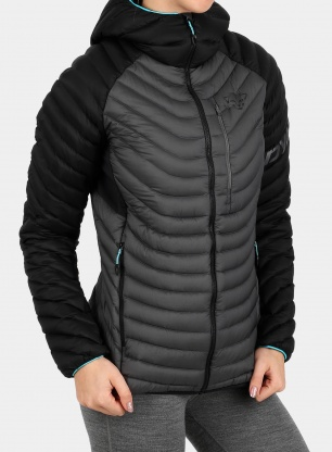Kurtka damska Dynafit Radical Down Hood Jacket - black