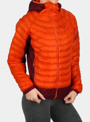 Kurtka damska Dynafit TLT Light Insulation Hooded - ibis
