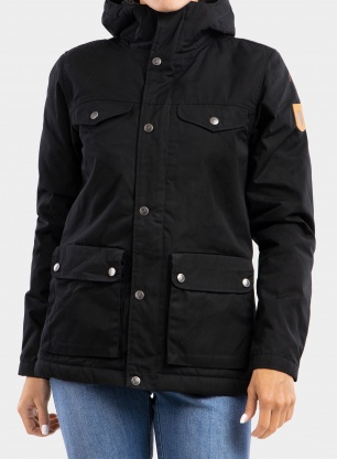 Kurtka damska Fjallraven Greenland Winter Jacket - black