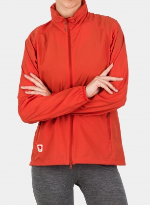 Kurtka damska Fjallraven High Coast Lite Jacket - rowan red