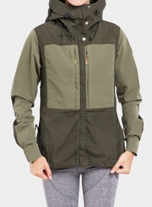 Kurtka damska Fjallraven Keb Jacket - forest/green