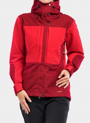 Kurtka damska Fjallraven Keb Jacket - ox red