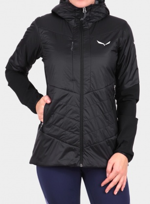 Kurtka damska Salewa Ortles Hybrid AWR Jacket - black out