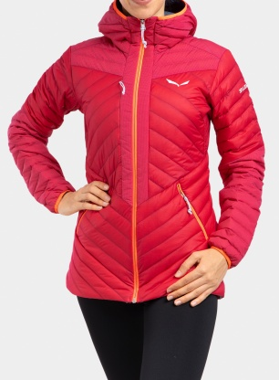 Kurtka damska Salewa Ortles Light 2 DWN Hood Jacket - rose red