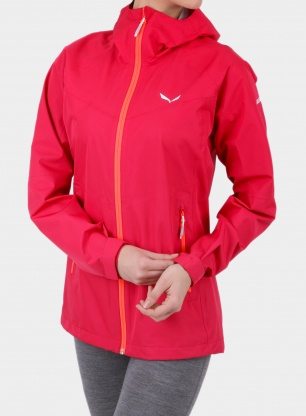 Damska kurtka Salewa Puez Aqua 3 PTX Jacket - rose red