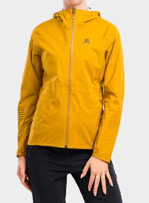 Kurtka damska Salomon Lightning WP Jacket - arrowwood