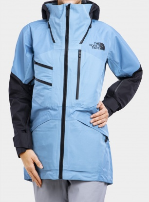 Kurtka damska The North Face Brigandine FUTURELIGHT - blue/black