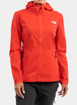 Kurtka damska The North Face Circadian Wind Jacket - red