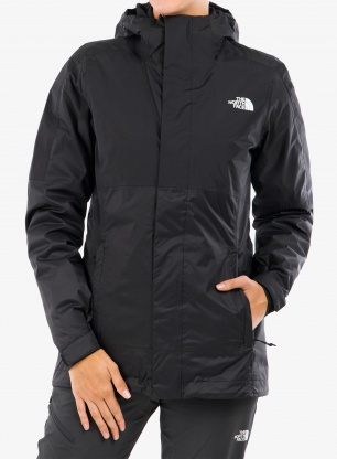 Kurtka damska The North Face Down Insulated DryVent Triclimate - blk