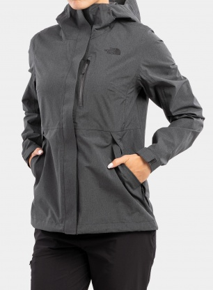 Kurtka damska The North Face Dryzzle FutureLight Jacket - d. grey