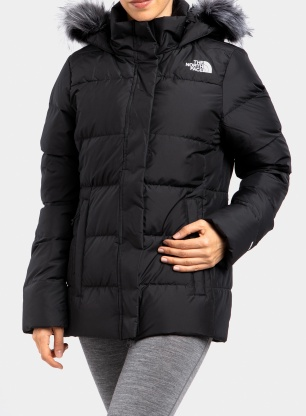 Kurtka zimowa damska The North Face Gotham Jacket - black