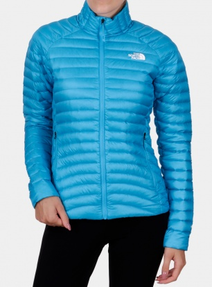 Kurtka damska The North Face Impendor Down Jacket - meridian blue