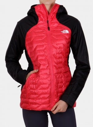 Kurtka damska The North Face Impendor Verto Prima Hoody - pink/black