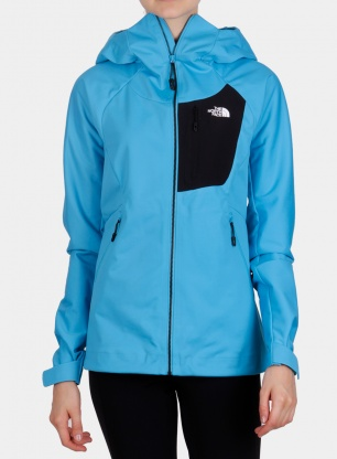 Kurtka damska The North Face Impendor Windwall Hoodie - meridian blue