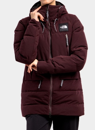 Kurtka damska The North Face Pallie Down Jacket - root brown