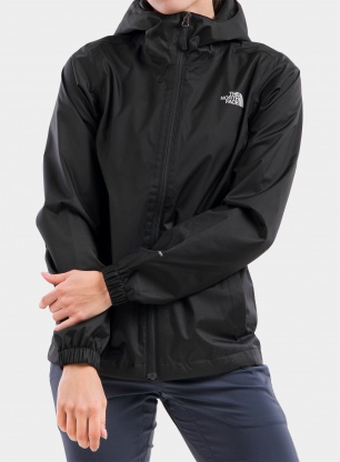Kurtka damska The North Face Quest Jacket - black/foil grey
