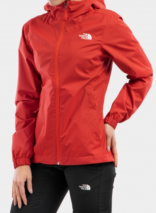 Kurtka damska The North Face Quest Jacket - red heather