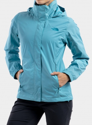 Kurtka damska The North Face Resolve Jacket - maui blue