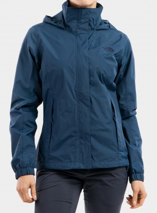 Kurtka damska The North Face Resolve Jacket - monterey blue