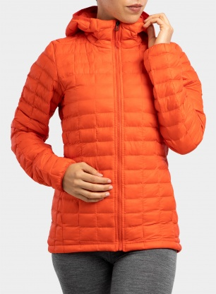 Kurtka damska The North Face Thermoball Eco Hoodie - flare matte