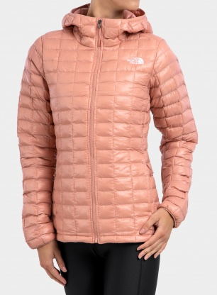 Kurtka damska The North Face Thermoball Eco Hoodie - pink clay