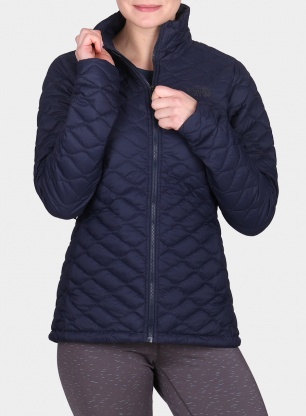 Kurtka damska The North Face Thermoball Jacket - urban navy matte