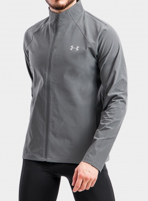 Kurtka do biegania Under Armour Launch 3.0 Storm Jacket - pitch gray