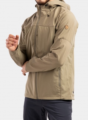 Kurtka Fjallraven Abisko Midsummer Jacket - savanna/light olive