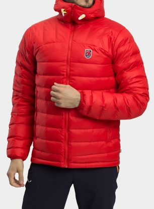 Kurtka puchowa Fjallraven Expedition Pack Down Hoodie - t.red