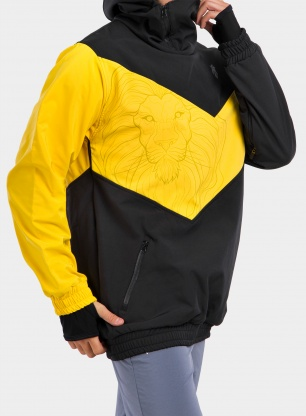 Kurtka Majesty Shadow softshell - black/yellow