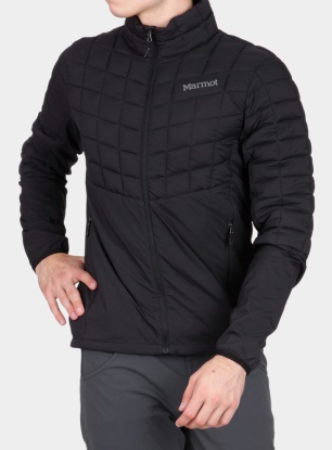 Kurtka Marmot Featherless Hybrid Jacket - black