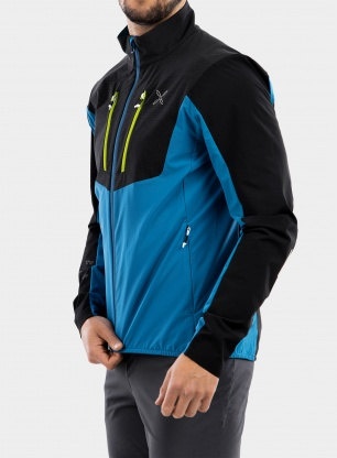 Kurtka Montura Air Pro Tech Jacket - teal blue/acid green