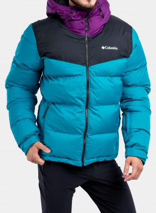 Kurtka narciarska Columbia Iceline Ridge Jacket - blue/black