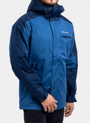 Kurtka narciarska Columbia Valley Point Jacket - tide/navy