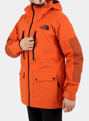 Kurtka narciarska The North Face Goldmill Parka - orange/picante red