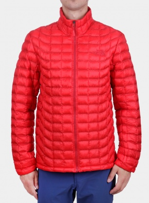 Kurtka The North Face ThermoBall Full Zip Jacket - red