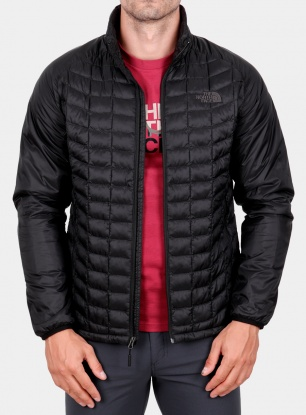 Kurtka ocieplana The North Face Thermoball Sport Jacket - black/black