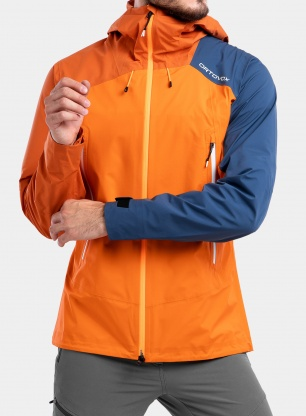 Kurtka Ortovox Westalpen 3L Light Jacket - burning orange