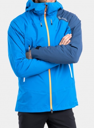 Kurtka Ortovox Westalpen 3L Light Jacket - safety blue