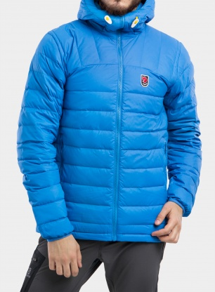 Kurtka puchowa Fjallraven Expedition Pack Down Hoodie - un blue