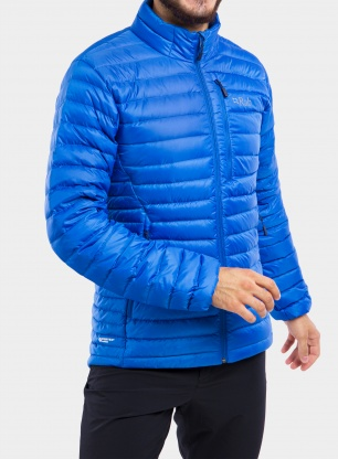 Kurtka puchowa Rab Microlight Jacket - polar blue