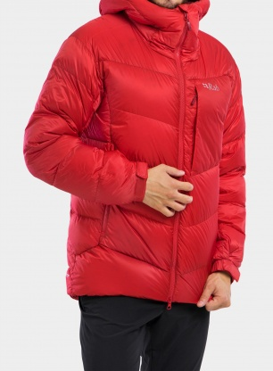 Kurtka puchowa Rab Positron Pro Jacket - ascent red