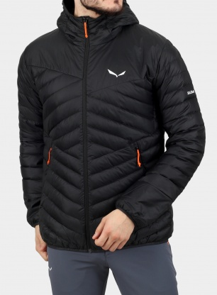 Kurtka puchowa Salewa Brenta Jacket - black out