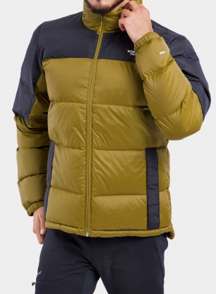Kurtka puchowa The North Face Diablo Down Jacket - green/black