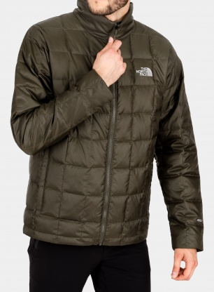 Kurtka puchowa The North Face Kabru Down Jacket - new taupe green