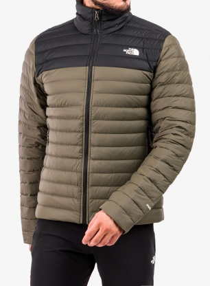 Kurtka puchowa The North Face Stretch Down Jacket - green
