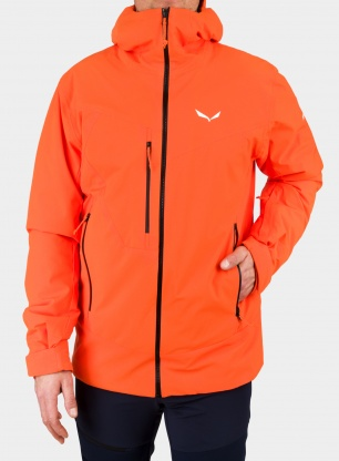 Kurtka Salewa Antelao Beltovo PTX/TWR Jacket - red orange